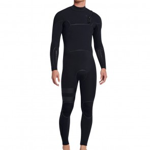 Hurley Advantage Max 3/3 Zip Free Wetsuit - Black