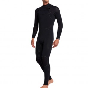 Hurley Advantage Max 4/3 Chest Zip Wetsuit - Black
