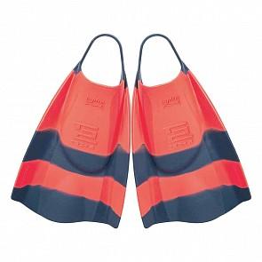 Hydro Tech 2 Swim Fins - Tang/Navy