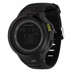 Freestyle Mariner Tide Watch - Black/Black/Yellow