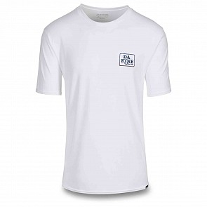 Dakine Inlet Loose Short Sleeve Rash Guard - White