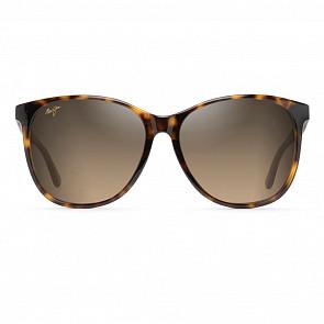 Maui Jim Women's Isola Sunglasses - Tortoise with Transparent Tan Temples