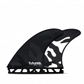 Futures Fins Jordy Smith HC Tri Fin Set - Black/White Camo