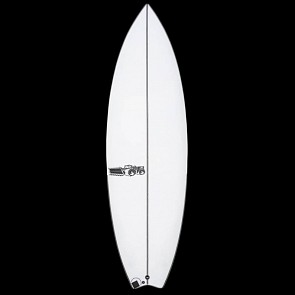 JS Blak Box 3 Swallow Tail Surfboard - Deck
