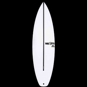 JS Monsta 8 HYFI Squash Tail Surfboard - Deck