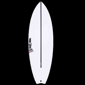 JS Psycho Nitro HYFI Swallow Tail Surfboard - Deck
