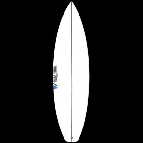 S Monsta 6 Squash Tail Surfboard - Deck