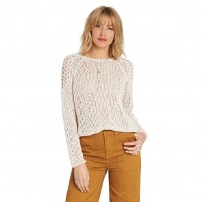 Billabong Women's Sea Ya Soon Knit Sweater - White Cap