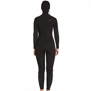 Billabong Women's Furnace Synergy 5/4 Hooded Chest Zip Wetsuit - 2018