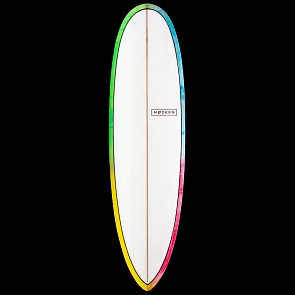 Modern Surfboards Love Child Surfboard Psychedelic - Deck