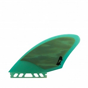 Push Fins A Keel Fin Set - Teal