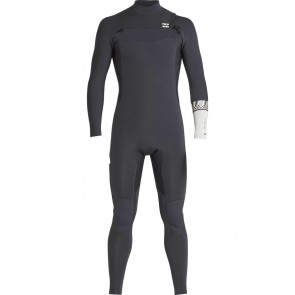 Billabong Furnace Revolution 3/2 Chest Zip Wetsuit - Graphite