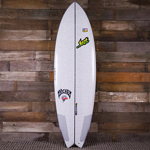 "Lib Tech Surfboards 5'8"" Round Nose Fish Redux Surfboard - Deck"