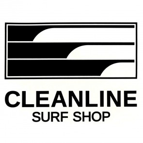 Cleanline Surf Lines Die Cut Sticker