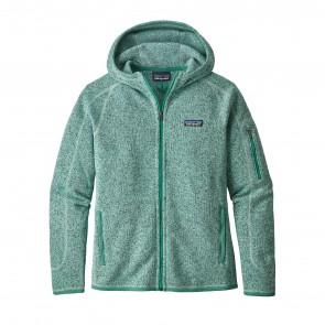 Patagonia Women's Better Sweater Full-Zip Fleece Hoody - Lite Distilled Green
