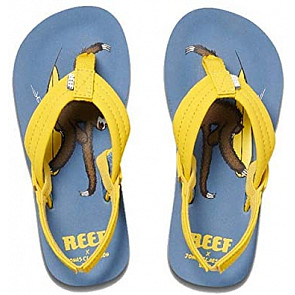 Reef Jonas Claesson Little Ahi Sandals  - Surfing Sloth