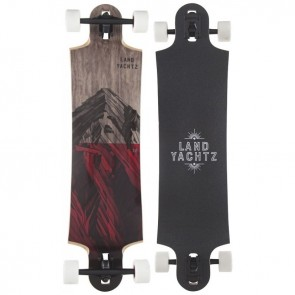Landyachtz Switchblade 38 Mountains Red Complete