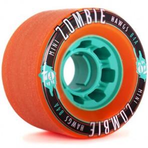Landyachtz 70mm Mini Zombie Hawgs Wheels - Orange