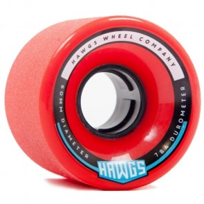 Landyachtz 60mm Chubby Hawgs Wheels - Red