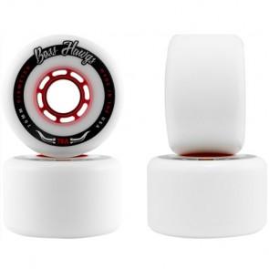 Landyachtz 70mm Boss Hawgs Wheels - White/Red