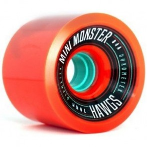 Landyachtz 70mm Mini Monster Hawgs Wheels - Orange