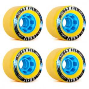 Landyachtz 70mm Mini Zombie Hawgs Wheels - Yellow