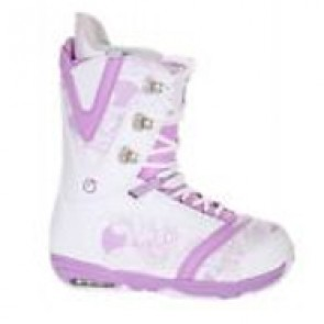 Burton Women's Lodi '09 Boots - White/Gator