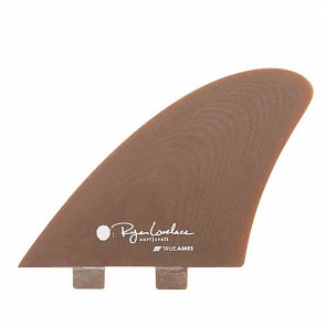 True Ames Lovelace Piggyback Keel Twin Fin Set - Kelp