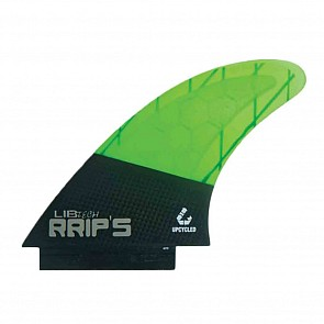 Lib Tech Fins RRIP's Tri Fin Set - Green