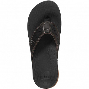 Reef Cushion Bounce Lux Sandals - Black/Brown - Top