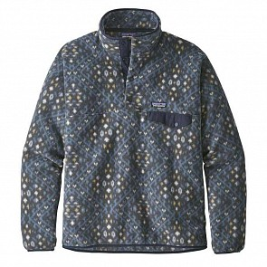 Patagonia Lightweight Synchilla Snap-T Fleece Pullover - Howl Stone Blue