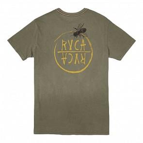 RVCA Hivemind T-Shirt - Olive
