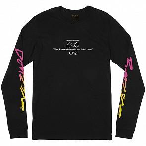 RVCA Campbell Bros Long Sleeve Tee - Black