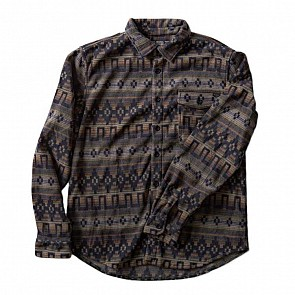 Billabong Long Sleeve Flannel Shirt - Raven