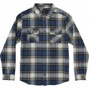 RVCA High Plains Flannel - Bright Blue
