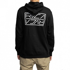 RVCA Dayshift Logo Hoody - Black