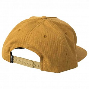 RVCA Camps Snapback Hat - Sand