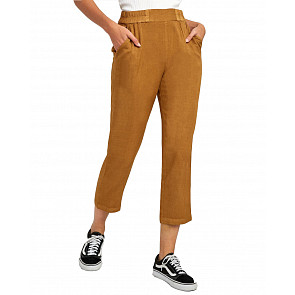 RVCA Women's Manila Pant - Antique Bronze