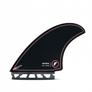 Futures Fins Mayhem Evil Twin + 1 Fin Set