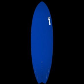 Torq Mod Fish 6'10 x 21 3/4 x 2 3/4 Surfboard - Blue/White