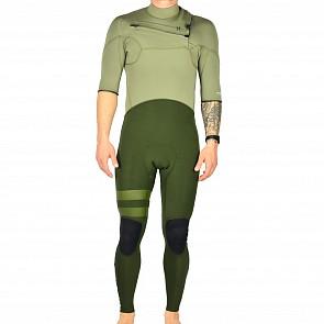 Hurley Advantage Plus 2/2 Short Sleeve Chest Zip Wetsuit - 2018