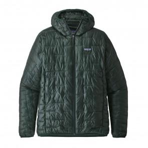 Patagonia Men's Micro Puff Hoodie Jacket - Micro Green