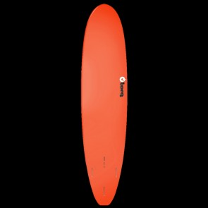 Torq Longboard 8'6 x 22 1/2 x 3 1/8 Surfboard - Red/White
