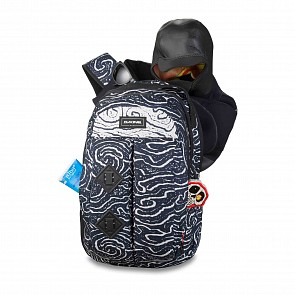 Dakine Mission Surf 25L Backpack - Lava Tubes