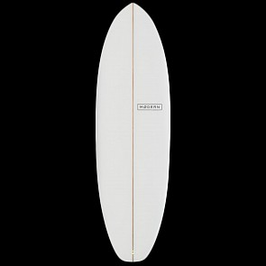 Modern Highline Surfboard - Clear - Deck