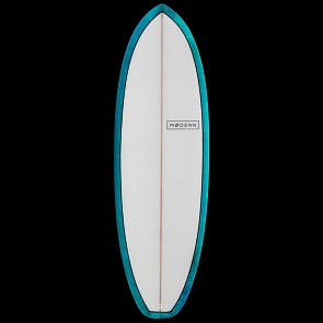 Modern Highline Surfboard - Sea Tint - Deck