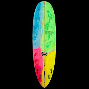 Modern Love Child Surfboard - Psychedelic