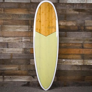 Modern Love Child XB 6'4 x 21 1/2 x 2 7/8 Surfboard - Pistachio - Deck