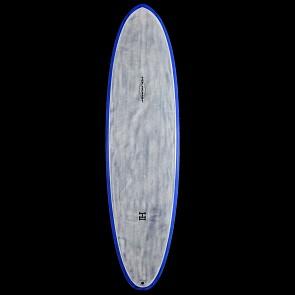 Harley Ingleby Series Moe Thunderbolt Surfboard - Black Xeon/Blue Tint - Deck