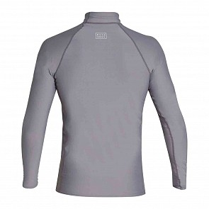 Billabong All Day Wave Performance Fit Long Sleeve Rash Guard - Charcoal